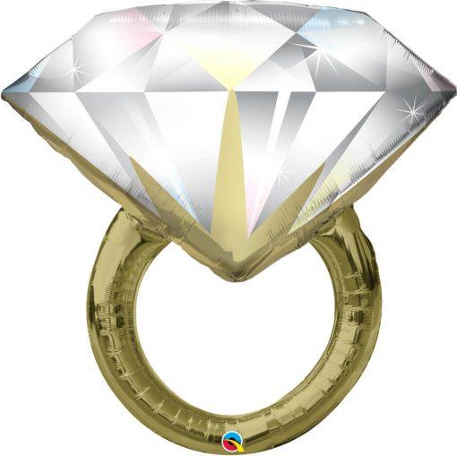 "37"" / 91cm Diamond Wedding Ring Qualatex #57819"