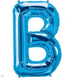 "34"" / 86cm Blue Letter B North Star Balloons #59231"
