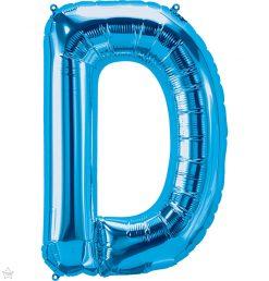 "34"" / 86cm Blue Letter D North Star Balloons #59235"