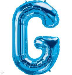 "34"" / 86cm Blue Letter G North Star Balloons #59241"