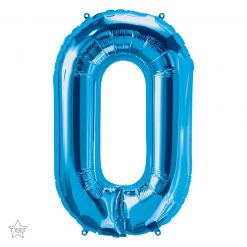 """34"""" / 86cm Blue Letter O North Star Balloons #59257"""