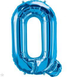 "34"" / 86cm Blue Letter Q North Star Balloons #59261"