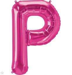 "34"" / 86cm Magenta Letter P North Star Balloons #59634"