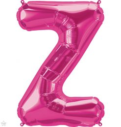 "34"" / 86cm Magenta Letter Z North Star Balloons #59654"