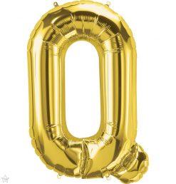 "34"" / 86cm Gold Letter Q North Star Balloons #59944"