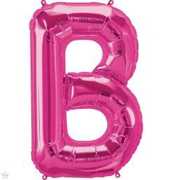 "34"" / 86cm Magenta Letter B North Star Balloons #59966"
