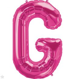 "34"" / 86cm Magenta Letter G North Star Balloons #59976"