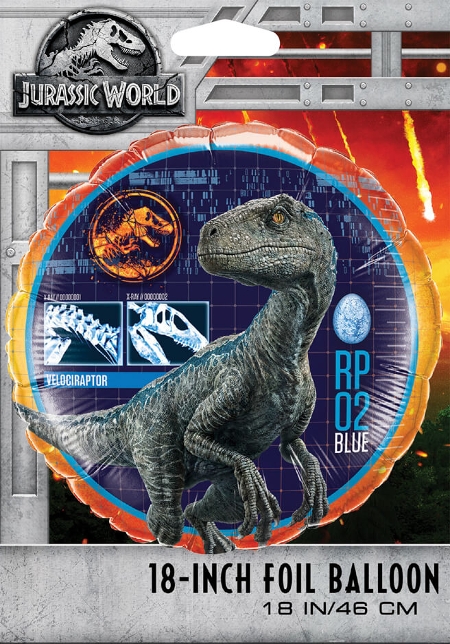 18″ / 46cm Jurassic World Qualatex #64690