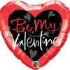 18″ / 46cm Be My Valentine Script Qualatex #78537