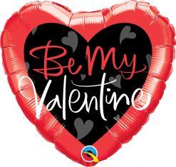 18″ / 46cm Be My Valentine Script Qualatex #78537