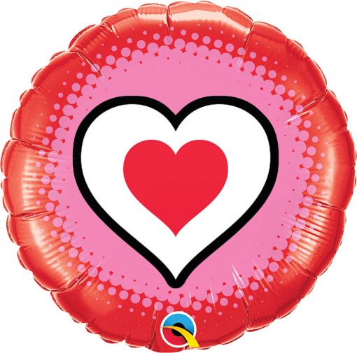 18″ / 46cm Only Hearts Qualatex #78545