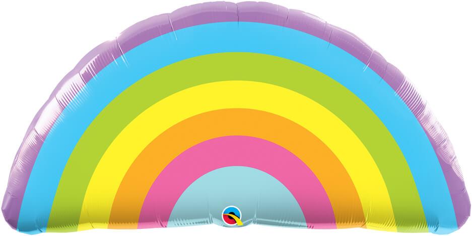 36″ / 91cm Radiant Rainbow Qualatex #78556