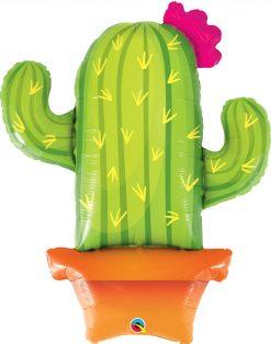 39″ / 99cm Potted Cactus Qualatex #78652