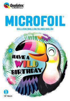 18″ / 46cm Have a Wild Birthday Qualatex #78660