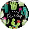 18″ / 46cm Birthday Cactuses Qualatex #78662
