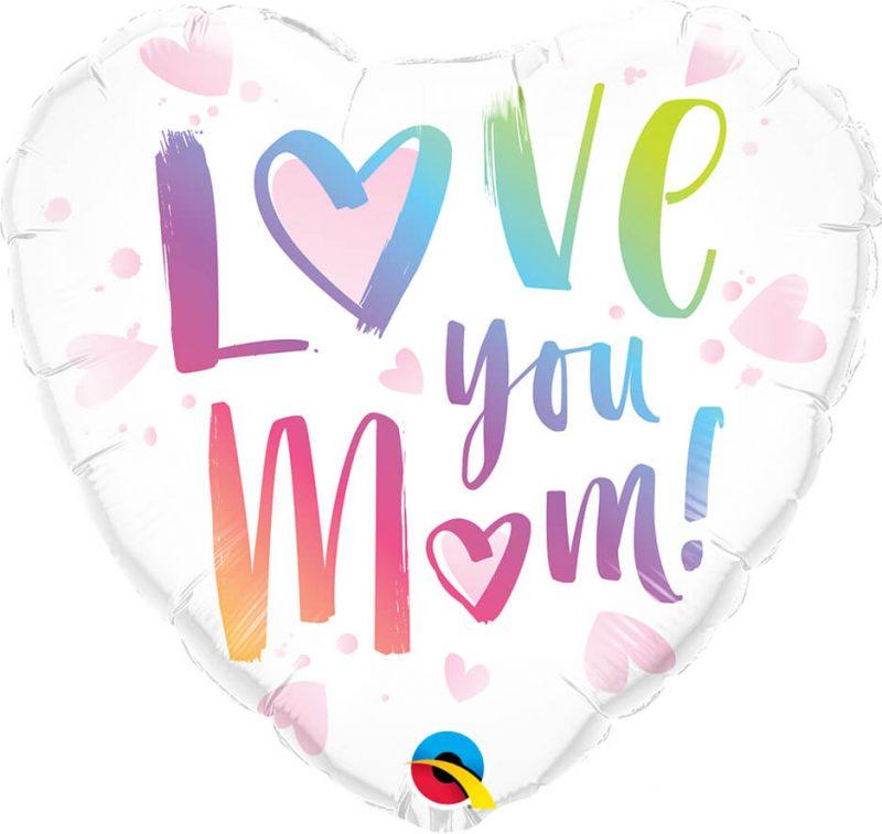 18″ / 46cm Love You M(HEART)M! Qualatex #82256