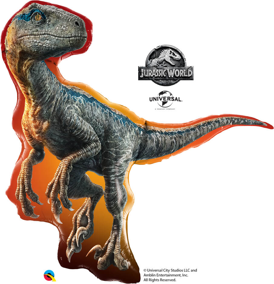 38″ / 96cm Jurassic World: Raptor Qualatex #82315