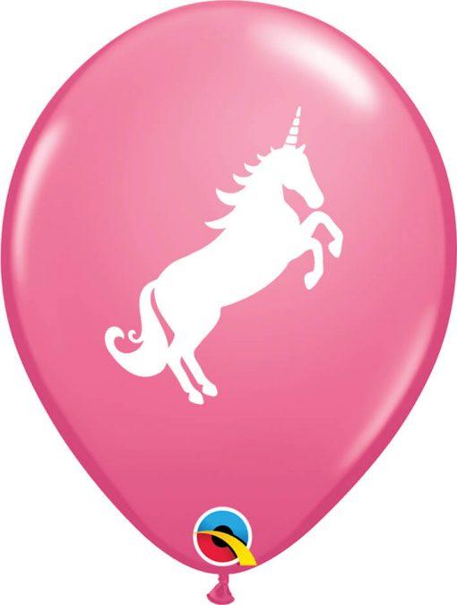 "11"" / 28cm 6szt Unicorn Rose Qualatex #86019"