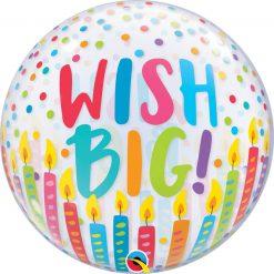 "22"" / 56cm Wish Big! Qualatex #87750"