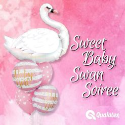 35″ / 89cm Graceful Swan Qualatex #87971