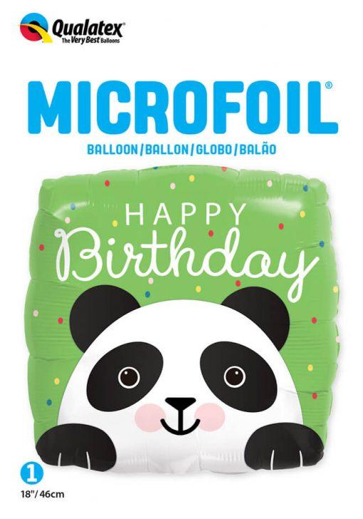 18″ / 46cm Birthday Panda Qualatex #87995