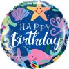 18″ / 46cm Birthday Fun Under The Sea Qualatex #87998