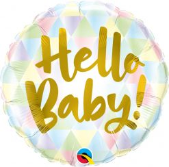 18″ / 46cm Hello Baby! Qualatex #88007