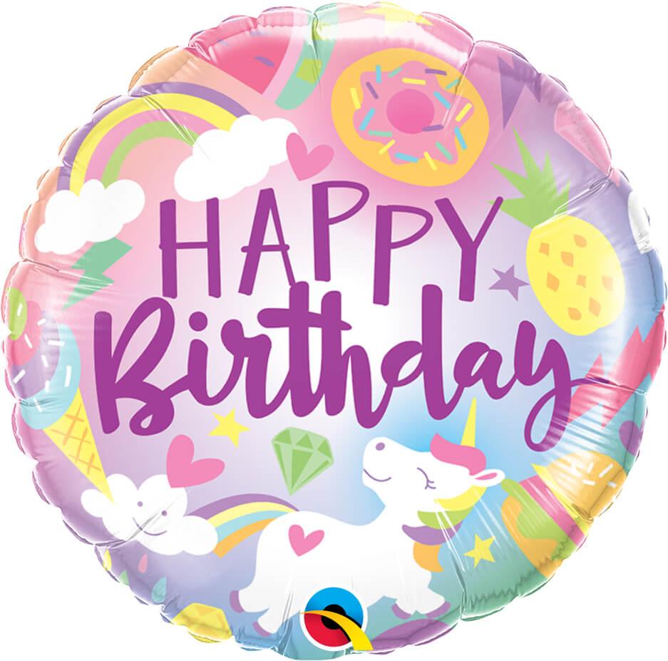 18″ / 46cm Fantastical Fun Birthday Qualatex #88010