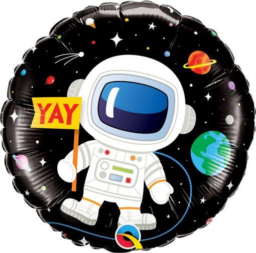18″ / 46cm Birthday Astronaut Qualatex #88059