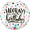 18″ / 46cm Birthday Hooray Qualatex #88076