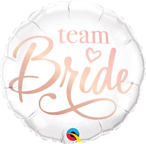 18″ / 46cm Team Bride Qualatex #88165