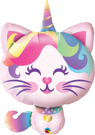38″ / 96cm Mythical Caticorn Qualatex #97537