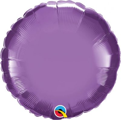 "18"" / 46cm Round Chrome® Purple Qualatex #90025"