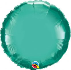 "18"" / 46cm Round Chrome® Green Qualatex #90033"