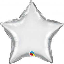 "20"" / 51cm Star Chrome® Silver Qualatex #90057"