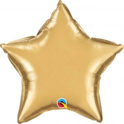 "20"" / 51cm Star Chrome® Gold Qualatex #90058"