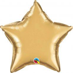 "20"" / 51cm Star Chrome® Gold Qualatex #90058"