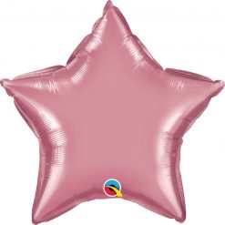 "20"" / 51cm Star Chrome® Mauve Qualatex #90077"