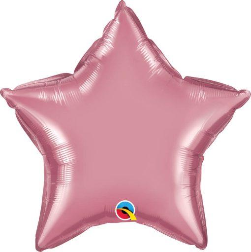 """20"""" / 51cm Star Chrome® Mauve Qualatex #90077"""