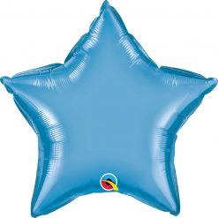 "20"" / 51cm Star Chrome® Blue Qualatex #90081"