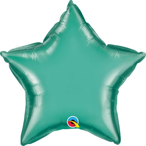 "20"" / 51cm Star Chrome® Green Qualatex #90103"