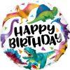 "18"" / 46cm Birthday Colorful Dinosaurs Qualatex #97382"