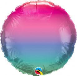 18″ / 46cm Vibrant Ombre Qualatex #97426