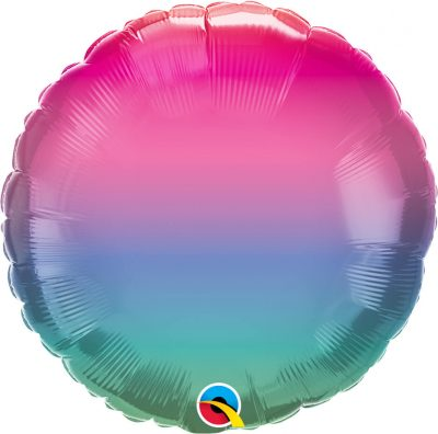 18″ / 46cm Vibrant Ombre Qualatex #97426