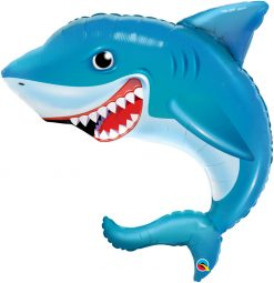"36"" / 91cm Smilin' Shark Qualatex #97525"
