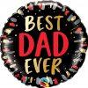 18″ / 46cm Best Dad Ever Qualatex #98428