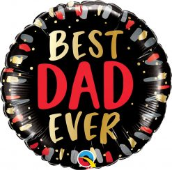 18″ / 46cm Best Dad Ever Qualatex #98428