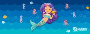Balonowa Syrenka i morski świat balonów