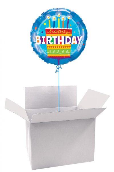 """18"""" / 46cm Poczta Balonowa Classic Urodzinowa z Balonem Foliowym #Foliowy Urodzinowa Classic"""