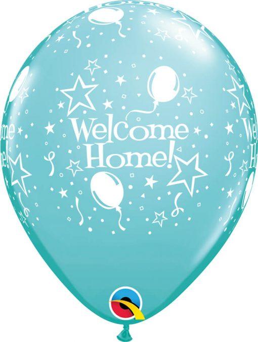 """11"""" / 28cm 6szt Welcome Home! Stars-A-Round Retail Asst Qualatex #18038"""